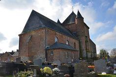 Eglise Saint-Algis (église fortifiée). Saint-Algis (Aisne - Thiérache) - Picardie