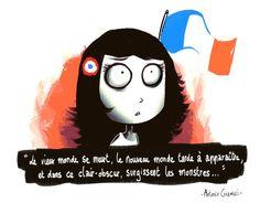 Elodie Bertrand #riposte
