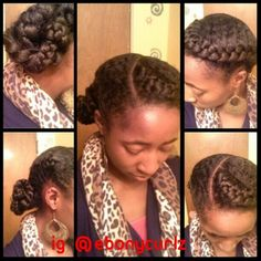 Cool 1000 Images About Wearable Protective Styles On Pinterest Hairstyles For Women Draintrainus