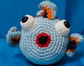 This little guy was inspired by a friend who wanted a fish for her son. Such fun. You can create him too! Visit 2ofUM.etsy.com.