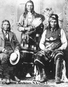 CHIEF JONAS GOODSTONEY (Stoney ) CHIEF SAMSON (Cree) CHIEF PAKAN (Cree)