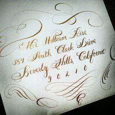 Flourished Bickham Calligraphy with Extreme Flourishing