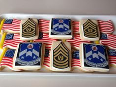 Military Retirement Cookies Military Retirement, Sugar Cookies, House Warming, Special Occasion, Baby Shower, Birthday, Desserts, Baby Sprinkle Shower, Tailgate Desserts