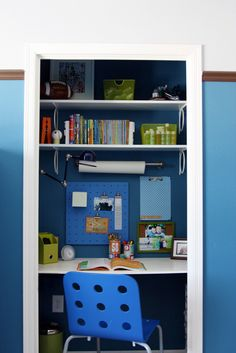 Good idea if you don't have space for a desk in a kid's room
