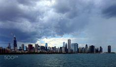 Chicago (USA) - Chicago in USA. Chicago Usa, New York Skyline, Travel, Viajes, Destinations, Traveling, Trips