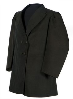 Frock coat worn by Benito Juárez, Mexican, c. 1865. The simple dark suit and top hat worn by Benito Juárez were unmistakable symbols of his republican ideals based on democracy and equality. Unlike his predecessors and many of his opponents, Juárez never wore a military uniform or royal apparel.