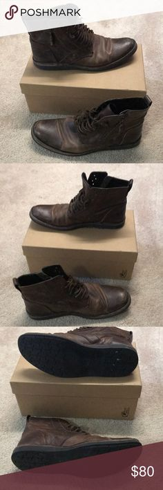 Men's John Varvatos Boot Used Men's John Varvatos Boot (used condition reflects in price) John Varvatos Shoes Boots