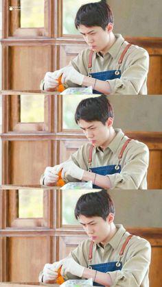 Baekhyun Chanyeol, Kpop, Coffee, Wallpaper, Friends, Baby, Honey, Universe, Husband