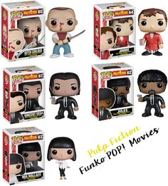 Funko Pop! Movies: Pulp Fiction