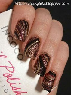 Black and Copper swirl tips only