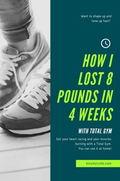 Alaskan lifestyle blogger, Cris Stone, shares how she lost 8 pounds in 4 weeks with Total Gym. Find out more! Total Gym Xls, 8 Minute Workout, Total Gym Workouts, Quick Abs, Workout Dvds, Lose 20 Pounds, Gym Training, Tone It Up, Losing Me