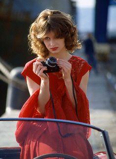 Nastassja Kinski red photographer