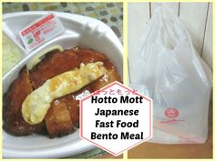 Japanese Fast Food Bento  Hotto Motto ♡ほっともっと