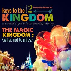 the magic kingdom: what not to miss - the handmade home