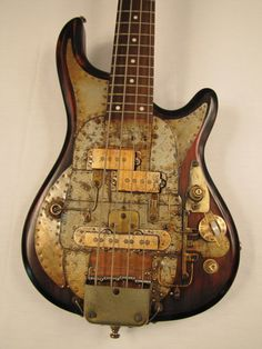 Bass guitar - Tony Cochran Custom Electric Guitars