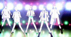 High School Star Musical (STARMYU) Anime Boys, Manga Anime, High Shool, Bishounen, Nerd Stuff, Vocaloid, Otaku, Musicals, School