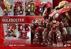 Avengers Age of Ultron Movie Masterpiece Action Figure 1/6 Hulkbuster - The Movie Store