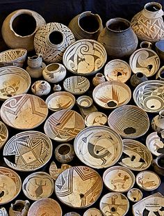 Western New Mexico University NAN Ranch Collection of Mimbres pottery