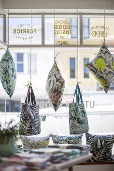 Window display at Utopia Goods Pop Up store in Paddington. www.utopiagoods.com