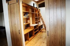The pantry at The Lodge by Ree Drummond / The Pioneer Woman, via Flickr
