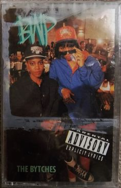 NEW 1991 BWP THE BYTCHES NO FACE EXPLICIT LYRICS DEF JAM RAP CASSETTE TAPE  #1990sOldSchoolSouthern