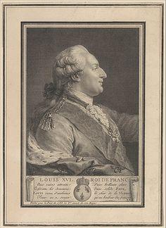 courtroyale:  Print on Louis XVI, King of France ,1783 metropolitan museum