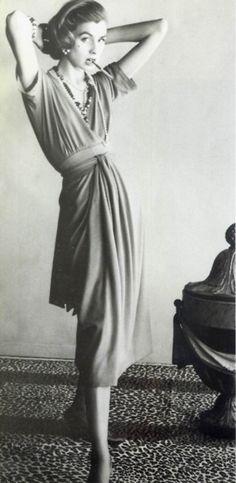 Suzy Parker pour Chanel, 1954