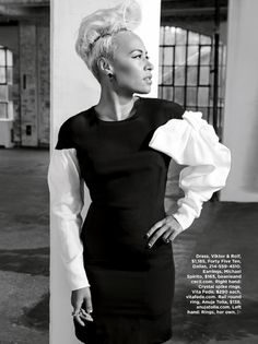 British singer Emeli Sandé has catapulted from relative obscurity into the history books with a sophisticated sound—and personal style—that's all her own. Emeli Sande, Natural Hair Styles, Short Hair Styles, Essence Magazine, One Hair, Funky Hairstyles, Natural Hair Journey, Black N White, Passion For Fashion