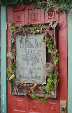 The Potting Shed Garden Shop Sign   homeiswheretheboatis.net