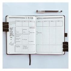 1284 Likes 13 Comments Minimalist Bullet Journal (Matty.journey) on I Journaling & Project Life Bullet Journal Ideas, Bullet Journal Weekly Layout, Bullet Journal 2019, Bullet Journal Notebook, Bullet Journal Aesthetic, Bullet Journal School, Bullet Journal Timetable, Bujo Planner, Life Planner