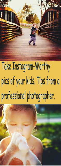 Take better, clearer, cuter pictures of your kids. A professional photographer shares her top 10 tips for getting super-cute amateur pics of kids. Simple Pictures, Baby Pictures, Cute Pictures, Family Pictures, Cool Instagram Pictures, Photo Class, Instagram Worthy, Instagram Tips, Instagram Posts