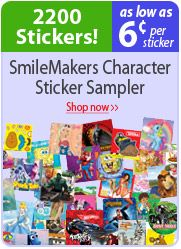 Scratch N' Sniff Stickers - Stickers from SmileMakers