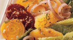 Warm Beet and Onion Salad Recipe from Weber's Big Book of Grilling™ by Jamie Purviance and Sandra S. McRae