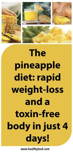 For the ones who didn't know already, pineapple is one of the healthiest foods known to mankind. It acts as an amazing cleansing and diuretic agent, which in turn promotes weight loss. It is abundant in antioxidants and water content, both of which support the elimination of toxins from the body and prevent fluid retention. …