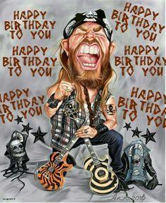 Happy Birthday Rockin man