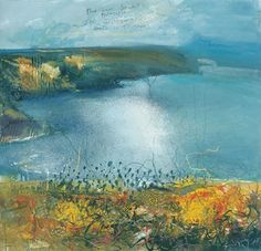 images of kurt jackson Landscape Artwork, Contemporary Landscape, Watercolor Landscape, Abstract Landscape, Kurt Jackson, Small Paintings, Seascape Paintings, Oil Paintings, St Just