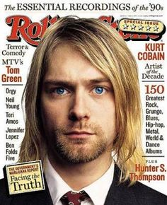 Kurt Cobain on the May 13, 1999 cover.