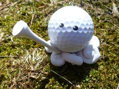 Custom Golfing Golf Ball Octopus Choose your Leg by mulberrymoose, $10.00
