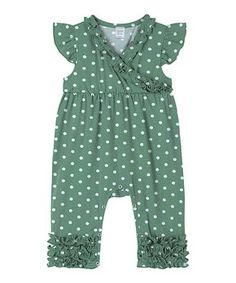A Modern Minimalist Baby | Zulily Minimalist Baby, Angel Sleeve, New Today, Baby Boutique, Playsuit, Polka Dot Top, Infant, Rompers, Sleeves