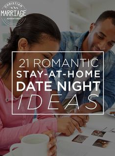 How do keep the spark alive with your spouse? Come see how a stay-at-home date night can help you connect with your spouse and strengthen your marriage.  Grab these stay-at-home date night ideas to help you rekindle the romance in your relationship. || Christian Marriage Adventure #marriage #datenight #datenightideas #stayathomedatenights #chrisitanmarriageadventures