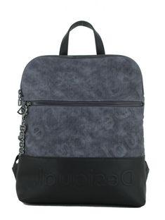 Desigual Damenrucksack Opera Nanaimo Denim Dark Blue blau schwarz Fashion Backpack, Backpacks, Bags, Products, Handbags, Backpack, Backpacker, Bag, Gadget