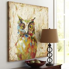 Quirky Owl Art   <3