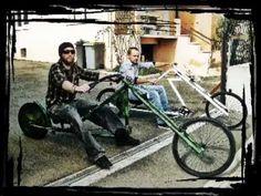 Vélo Chopper Army Camo Custom Bike !! BADCHOP Bicycle !! HOMEMADE !! DIY - YouTube