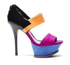 "Color block WANT! Sole Society ""Makayla"", $49.95"