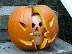 Splitting Headache pumpkin
