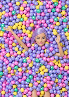 Candy Ball Pit for Barbie/ Violet Tinder Studios