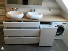 Fantastic Cost-Free Bathroom Furniture wooden Ideas Excessive stuff plus insufficient locations to store them restricting the design of your bathroom? Laundry Bathroom Combo, Laundry Room Design, Home Room Design, Bathroom Design Luxury, Bathroom Design Small, Bathroom Layout, Modern Small Bathrooms, Bathroom Modern, Bathroom Design Inspiration