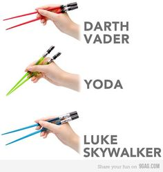 uh, coolest chopsticks EVER! I need these...