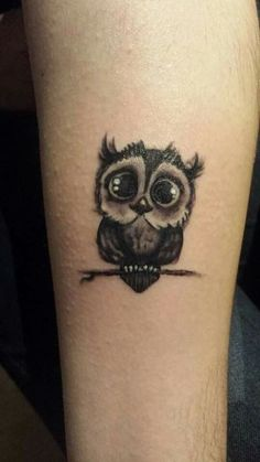 40 Cute Owl Tattoos - Owl pattern is a sought-after pattern, which is admired by many people all over the world. For each individual, this ink has its special connotation and it depends on the color spectrum and on the …