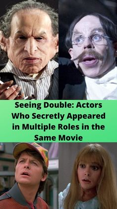 Seeing #Double: Actors Who #Secretly Appeared in #Multiple Roles in the Same #Movie Bridal Nail Art, Bridal Makeup, Funny Tweets, Funny Memes, Funniest Memes, Worst Wedding Dress, Online Shopping Fails, Romantic Wedding Receptions, Dramatic Hair
